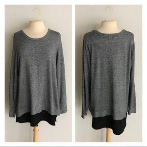 CLOSET CLOSING Croft & Barrow sweater/ tunic